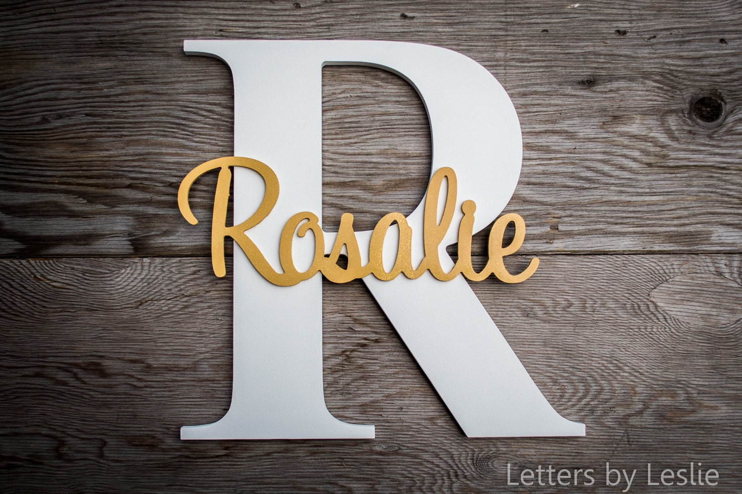 Large wood letters capital letter with name custom for Large wooden letter patterns