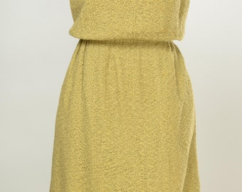 Johnny Jr. gold sheath dress