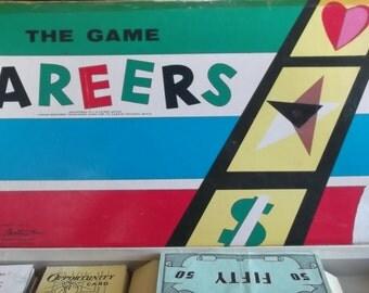 Vintage 1957 Careers Game