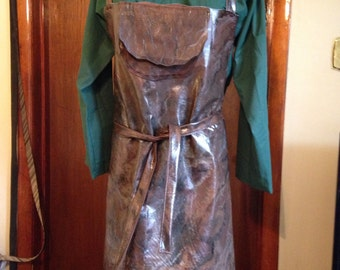 Men's Renaissance Brewmaster BlackSmith Outfit Custom Made to fit size Small to Xlarge only
