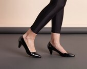 Pumps, Heels, Shoes, High Heels, Sexy Shoes, Handmade Shoes, Pointed Toe, Black Shoes // Free Shippi