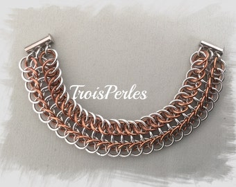 14 Chain Maille bracelet - Chainmaille bracelet