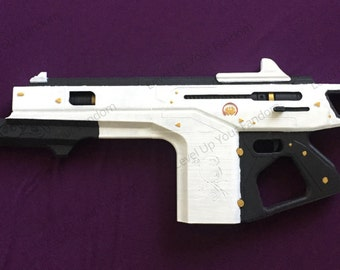 Monte Carlo Exotic Auto Rifle from Destiny 3D Printed Life Size Finished Replica