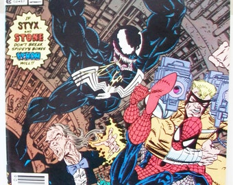 The Amazing Spiderman Comic Book Stalking Feat June 1990