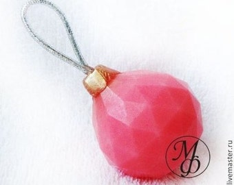 Silicone soap mold Christmas ball 1