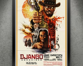 "Django Unchained - ""Classic Vengeance"" 13x19"