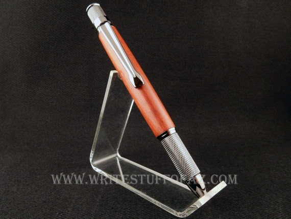 Retro Twist Pen, Padauk Wood, Parker Refill