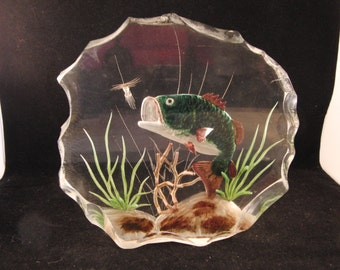 Fish in the pond art