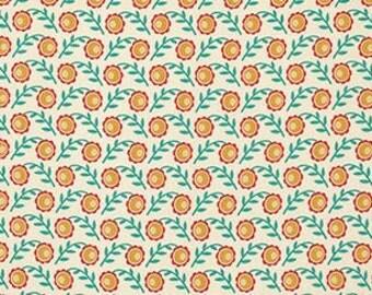 Joel Dewberry Botanique 'Camelia' in Butternut Cotton Fabric