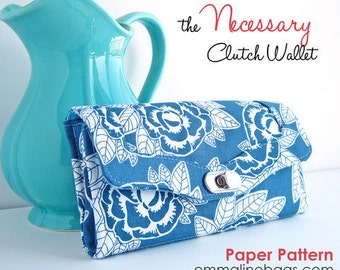 The Necessary Clutch Wallet - Paper Pattern