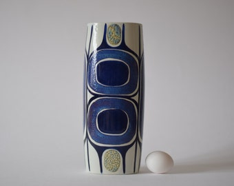 RARE Royal Copenhagen - tall vase - 450/3116 - Inge Lise Koefoed - collectible - Danish midcentury