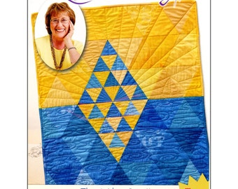 """Pattern """"The Nile"""" Quilt Pattern by Quilt In A Day (1249) Paper Pattern"""
