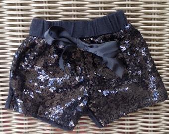 glitter shorts, sparkle shorts ADD ON