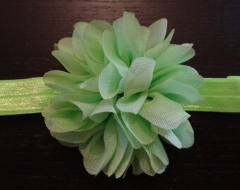 neon flower headband, metallic, newborn, infant, toddler, photo prop, glitter, lace headband