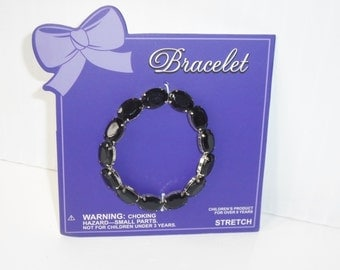 Gemstone Bracelet set of 5, party favor dress-up jewelry