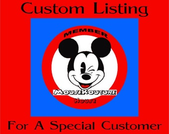 CUSTOM LISTING for brittnicole1902 -Set of 1 Miss Mouse Shirt Personalized - Magical Family Vacation Pirate Cruise - Multiple Options