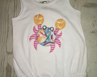 Crab onesie
