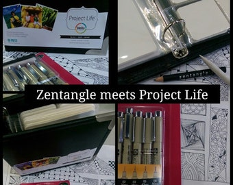 Zentangle Meets Project Life