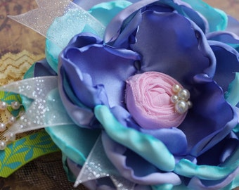 Spring, Easter Headband, Spring Accessory, Girls Hair Accessory, Baby Girl Headband, Spring Hair Flower, Kids Photo Prop, Spring Hair Clip