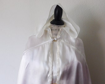 Satin Kids Hooded FairyTale Cloak