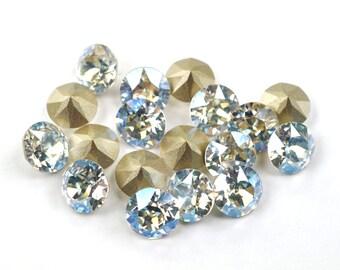 Swarovski 39ss 1088 Moonlight Xirius Chatons 8mm Crystal