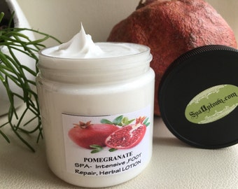 SALE POMEGRANATE-SPA Intensive Foot Repair Herbal Cream, lotion, 4 fl oz