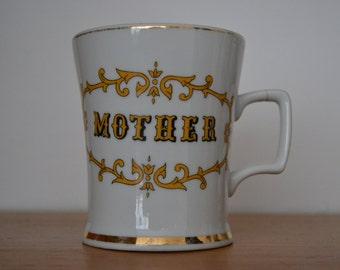 Mother (gold trim) Mug