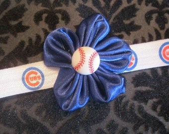 Chicago Cubs Infant Elastic Headband