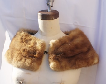 1950s Fur Collar