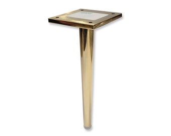 Dunbar- Brass Metal Furniture Leg, Tapered