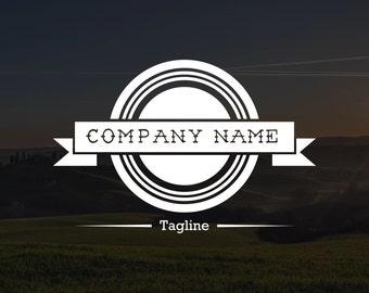 Premade Vintage Logo #10, Watermark, Business Logo