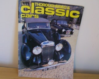 Two Vintage Classic Car Magazines