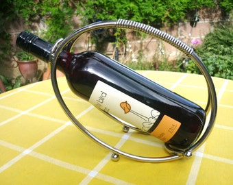 French wine bottle holder/carrier