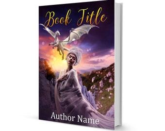 Premade dragon book cover design
