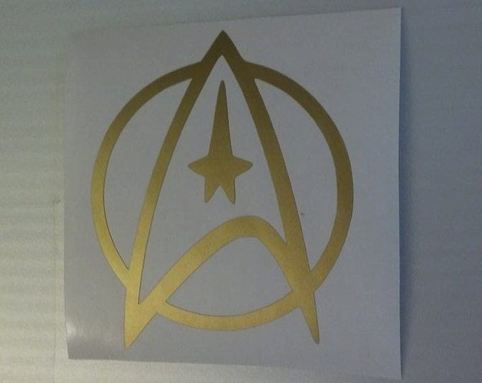 Star Trek Star Command Symbol Vinyl Decal