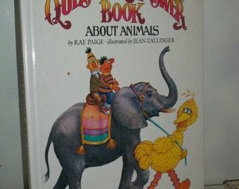 1983 HC The Sesame Street Question & Answer Book about Animals