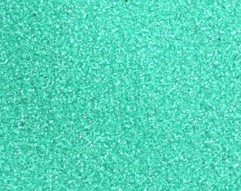 Green Colored Sand ~ 12oz (1 cup vol.)  Green Unity Sand ~ Green Wedding Sand ~ Green Sand ~ Green Craft Sand ~ 150 Colors Available