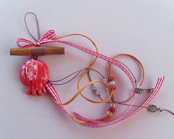 Lucky Charm /Pomegranate Lucky Charm
