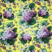 Free Spirit Botanical Violets Yellow Fabric by the Yard PWSL002-YELLOW