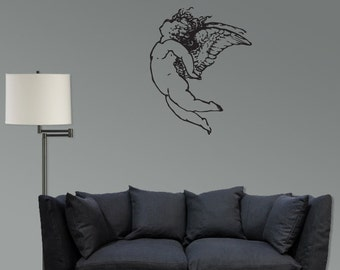Fallen Angel Vinyl wall decal