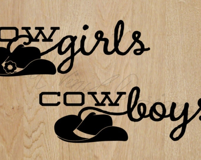 """Bathroom Decal for DIY Signs - Set of Two - Wedding Day Fun Decal """"Outhouse"""" Decal -Vinyl Decal Wedding Reception"""