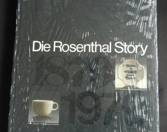 Book The Rosenthal Story 1st edition of 1980 by Schreiber, Honisch and Simoneit NEW with slipcase