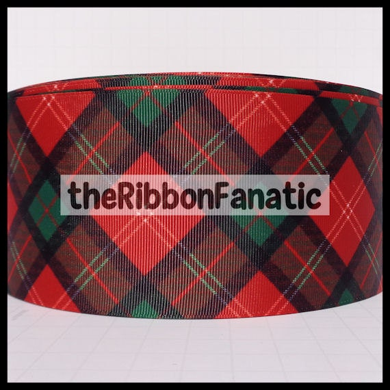 3 Yds 3 Quot Christmas Tartan Plaid Red Emerald Green