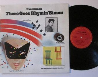 Paul Simon There Goes Ryhmin' Simon Vintage 70's Vinyl Record LP