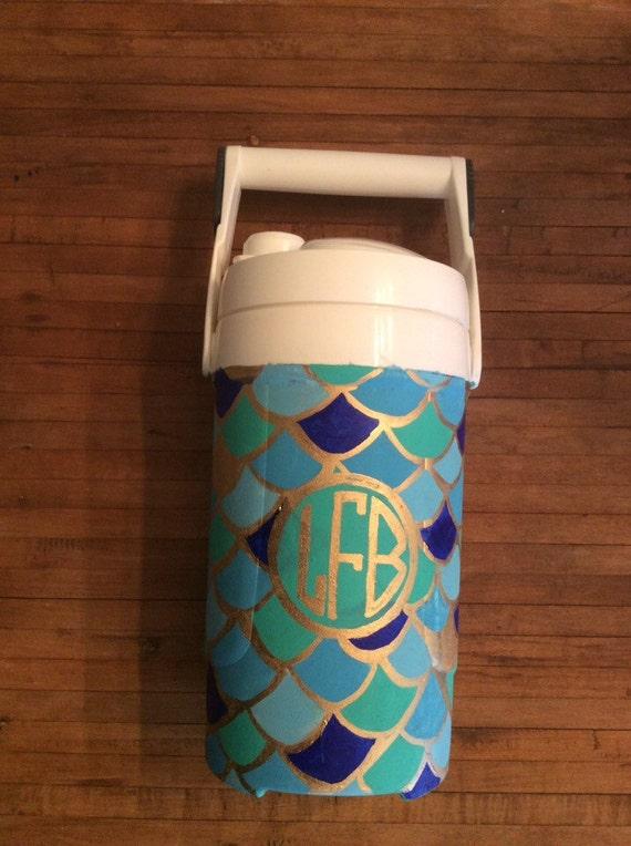 Diy Painted Cooler : Hand painted chug jug