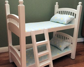 Bunk Bed for your American Girl doll or any 18 inch doll