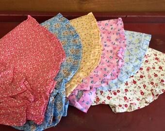 Hand-Sewn Pioneer Bonnet Pioneer Trek Clothing