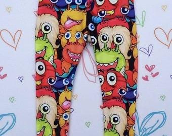Monster Spandex Leggings