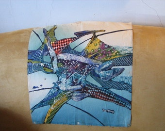 Hand Painted Batik Picture from Java