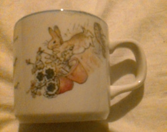 Wedgewood Peter Rabbit Mug Made in England